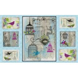 Song Birds - Panel