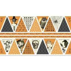 Sew Scary - Bunting Panel